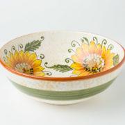 Ciotola creato e decorato a mano ceramica fiorentina
